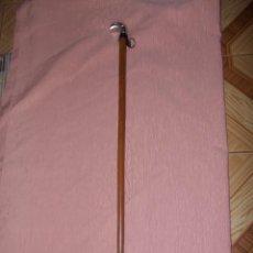 Antigüedades: BASTON MANGO DE PLATA. Lote 97079567