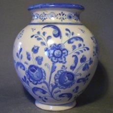 Antigüedades: JARRÓN CERÁMICA DE TALAVERA XIX – XX . Lote 97086967
