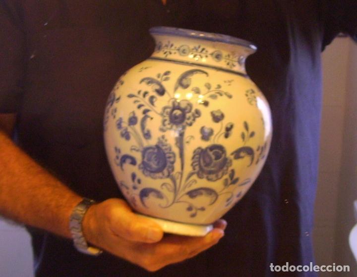 Antigüedades: JARRÓN CERÁMICA DE TALAVERA XIX – XX - Foto 19 - 97086967