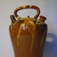 Antigüedades: BOTIJO DE TERRISSA CATALANA XX . Lote 97087527