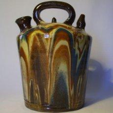Antigüedades: BOTIJO DE TERRISSA CATALANA XX . Lote 97087595
