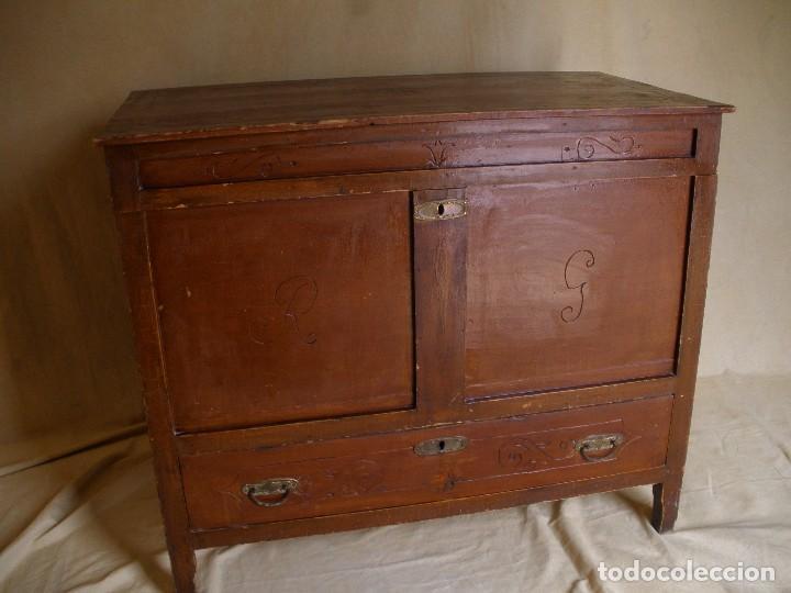 BAUL SS XIX- (Antigüedades - Muebles Antiguos - Baúles Antiguos)