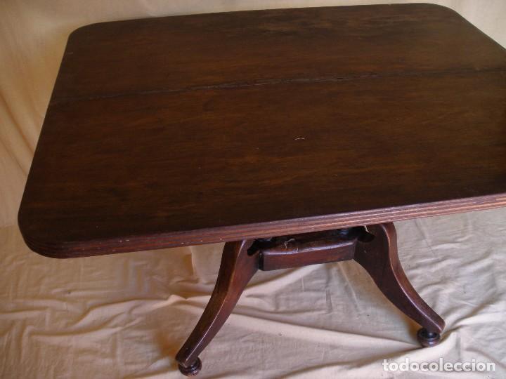 Antigüedades: mesa tilt top- - Foto 5 - 97106595