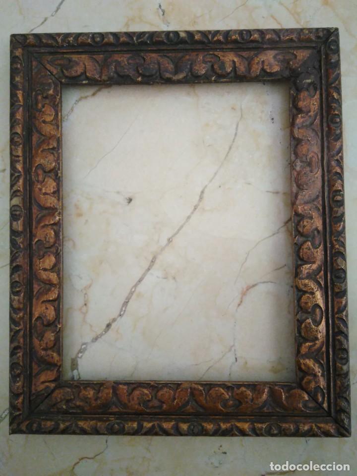 marco de madera tallada , color cobre. 20 x 1 - Comprar Marcos ...