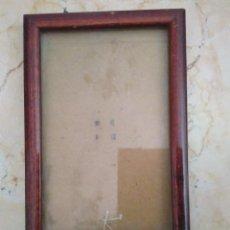 Antigüedades: PORTAFOTOS DE MADERA MODERNISTA . MEDIDAS INTERIORES : 13.5 X 8.5 CM.. Lote 97118839