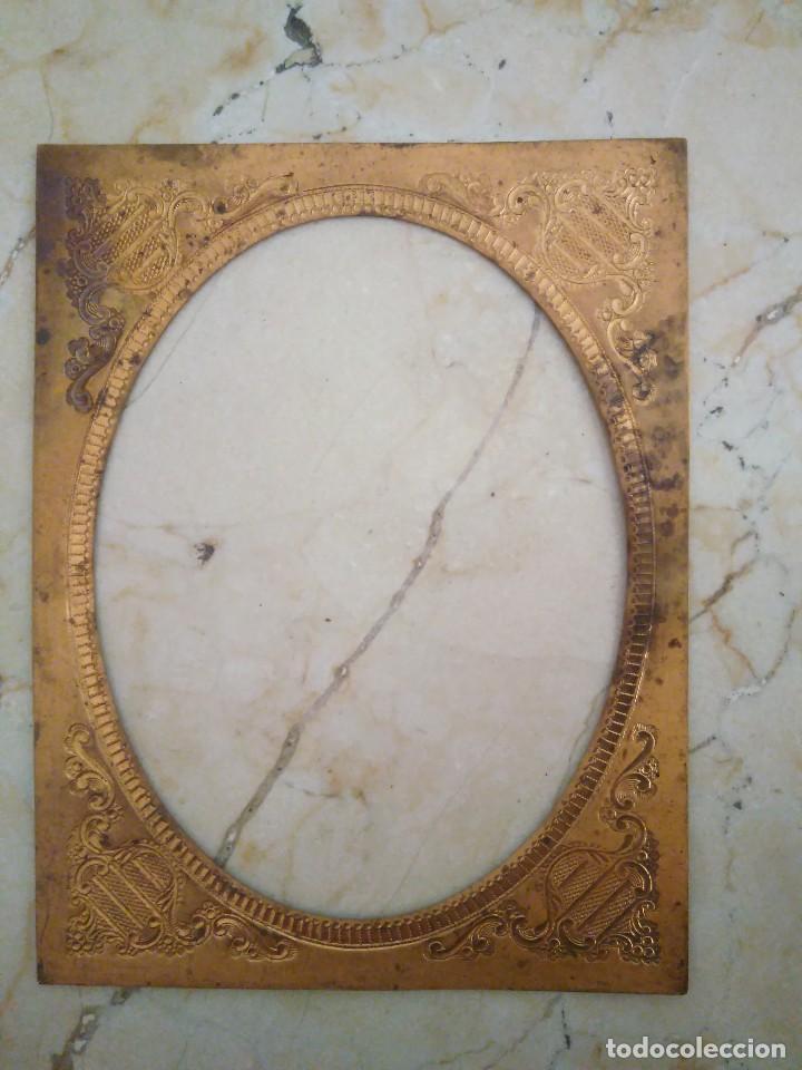 marco metálico 14 x 10.8 cm . diámetros in - Comprar Marcos Antiguos ...