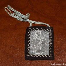 Antigüedades: PEQUEÑA IMAGEN RELIGIOSA ESCAPULARIO (#2). Lote 97120259