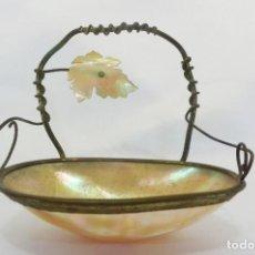Antigüedades: BELLÍSIMO TOCADOR DE CONCHA ISABELINO. DESPOJADOR, TOCADOR, JOYERO. S XIX. Lote 97122039