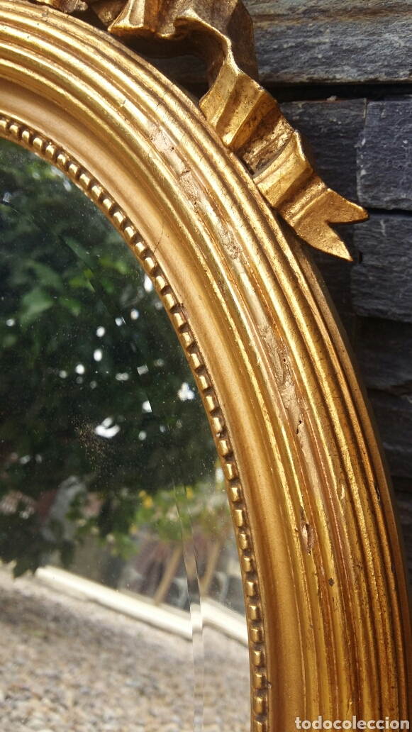 Antigüedades: Antiguo espejo restaurado - Foto 2 - 97151828