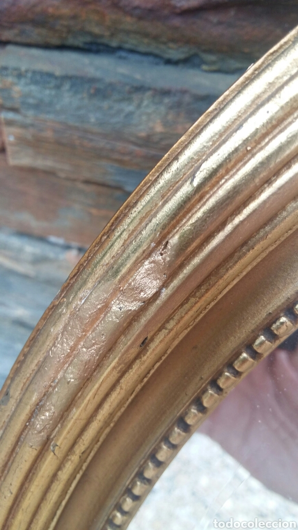 Antigüedades: Antiguo espejo restaurado - Foto 3 - 97151828