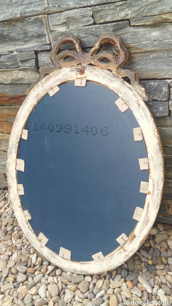Antigüedades: Antiguo espejo restaurado - Foto 4 - 97151828