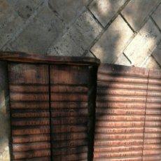 Antigüedades: TABLAS DE LAVAR RESTAURADAS. Lote 97172591