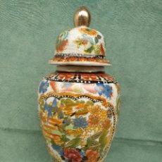Antigüedades: GRAN JARRÓN TIBOR EN PORCELANA CHINA 36 CM DE ALTO. Lote 97190483