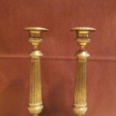 Antigüedades: PAREJA DE CANDELEROS FRANCESES. Lote 97195483