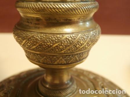 Antigüedades: Pareja de candeleros Franceses - Foto 3 - 97195483