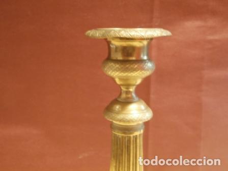 Antigüedades: Pareja de candeleros Franceses - Foto 5 - 97195483