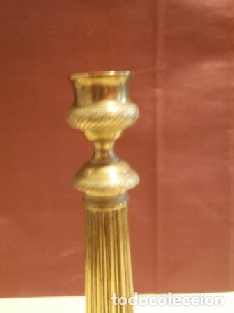 Antigüedades: Pareja de candeleros Franceses - Foto 6 - 97195483