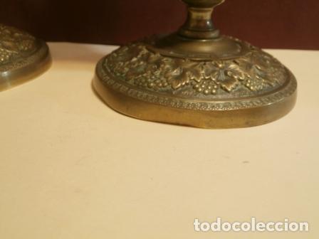 Antigüedades: Pareja de candeleros Franceses - Foto 8 - 97195483