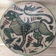 Antigüedades: DOMINGO PUNTER. PLATO DE TERUEL.. Lote 122727018