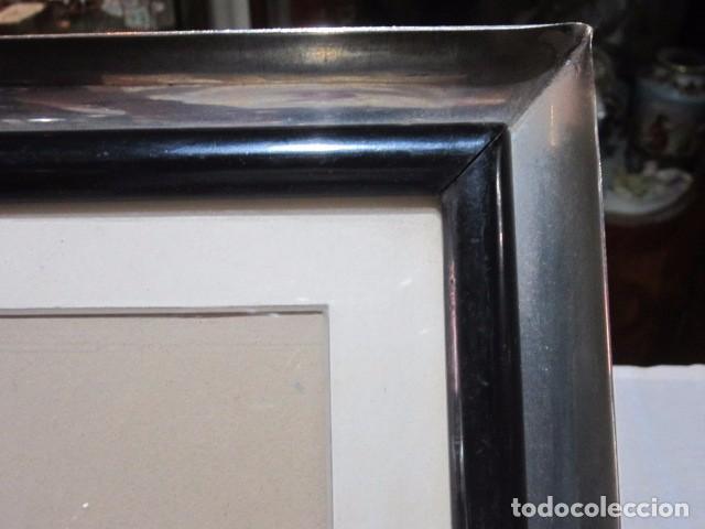 antiguo marco metálico. interior: 16,5 x 22,5 c - Comprar Marcos ...