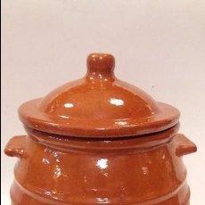 Antigüedades: PUCHERO DE BARRO. Lote 97226823
