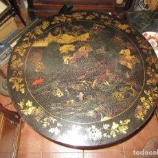 Antigüedades: MESA CHINA LACADA, ANTIGUA . Lote 97239291