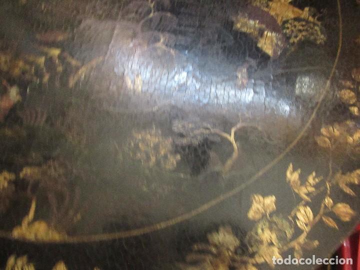 Antigüedades: MESA CHINA LACADA, ANTIGUA - Foto 2 - 97239291