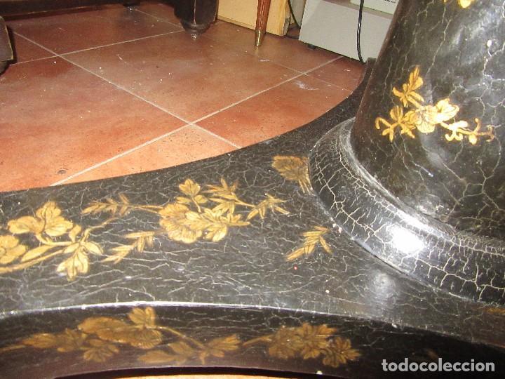 Antigüedades: MESA CHINA LACADA, ANTIGUA - Foto 3 - 97239291
