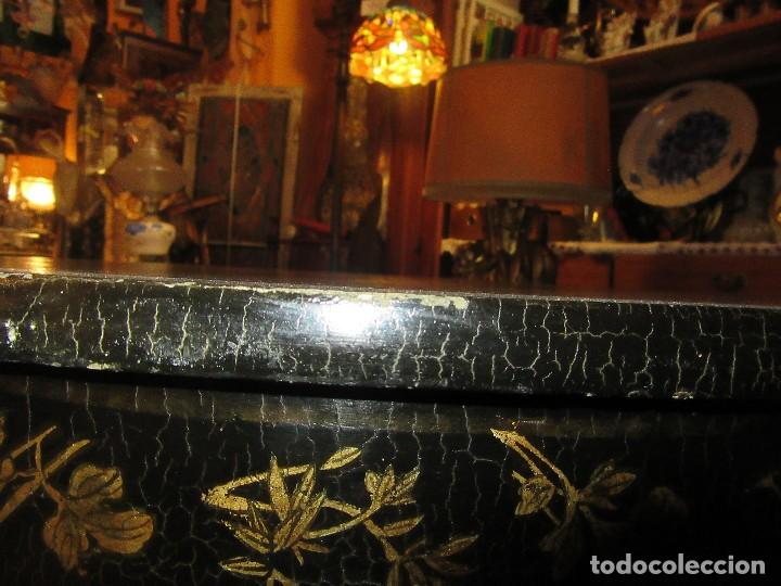 Antigüedades: MESA CHINA LACADA, ANTIGUA - Foto 4 - 97239291
