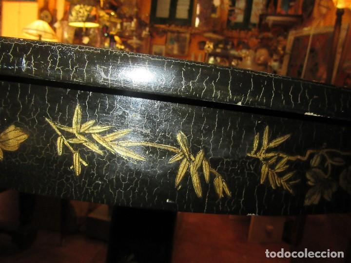 Antigüedades: MESA CHINA LACADA, ANTIGUA - Foto 5 - 97239291