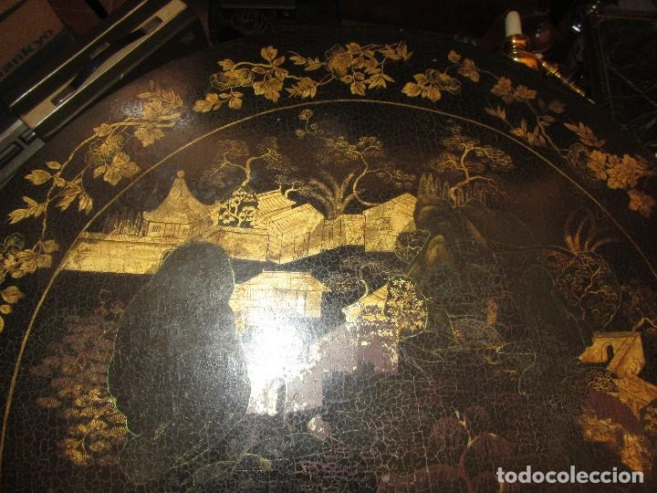 Antigüedades: MESA CHINA LACADA, ANTIGUA - Foto 8 - 97239291