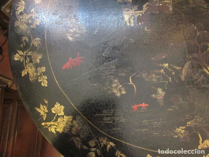 Antigüedades: MESA CHINA LACADA, ANTIGUA - Foto 9 - 97239291
