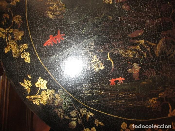 Antigüedades: MESA CHINA LACADA, ANTIGUA - Foto 10 - 97239291