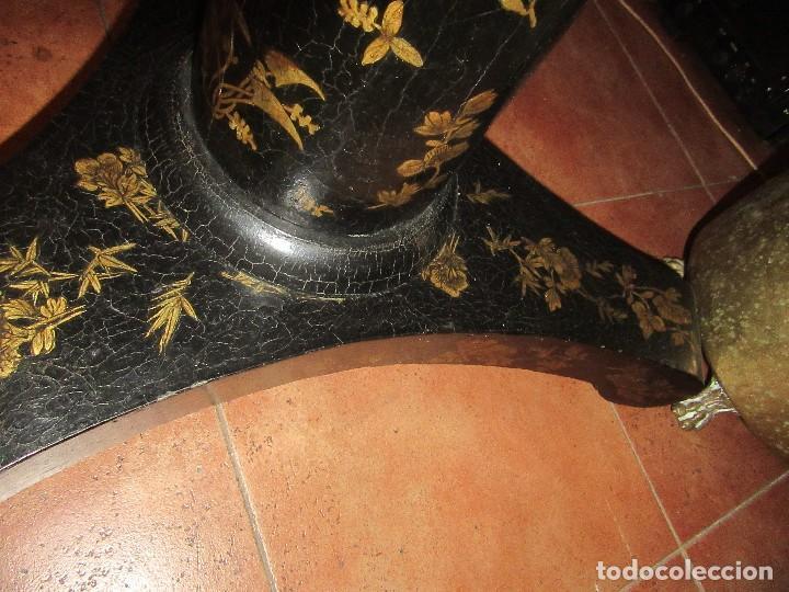 Antigüedades: MESA CHINA LACADA, ANTIGUA - Foto 11 - 97239291