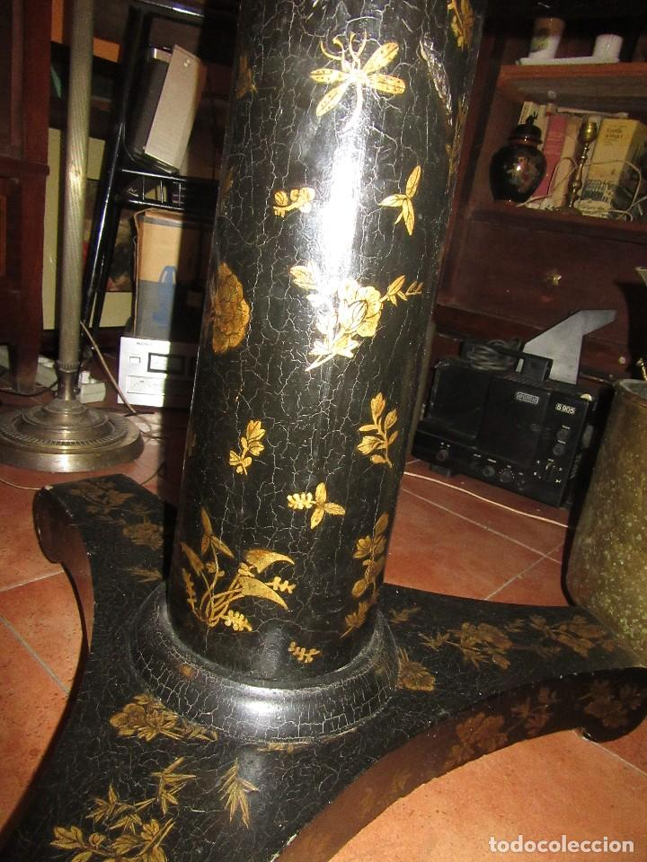Antigüedades: MESA CHINA LACADA, ANTIGUA - Foto 12 - 97239291