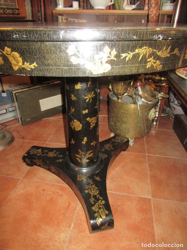Antigüedades: MESA CHINA LACADA, ANTIGUA - Foto 15 - 97239291