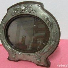 Antigüedades: PORTAFOTOS ZINC OVALADO #. Lote 97240371