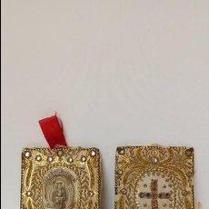 Antiquitäten - pareja de escapularios- - 97245915