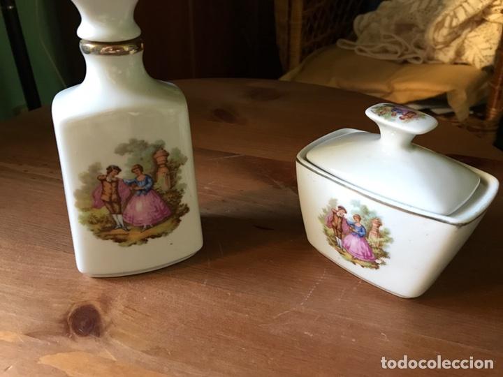 Antigüedades: 2 piezas de tocador marca Sanbo - Foto 2 - 97265810