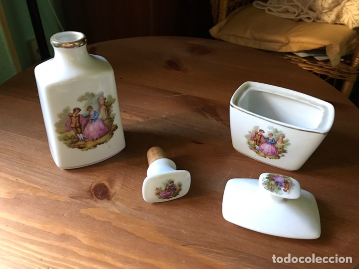 Antigüedades: 2 piezas de tocador marca Sanbo - Foto 3 - 97265810
