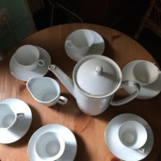 Antigüedades: JUEGO DE CAFÉ SANTA CLARA, ANTIGUO. Lote 97266116