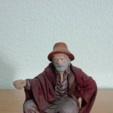 Antigüedades: PASTOR PESCADOR PARA BELEN, PESEBRE, NACIMIENTO. Lote 97290479