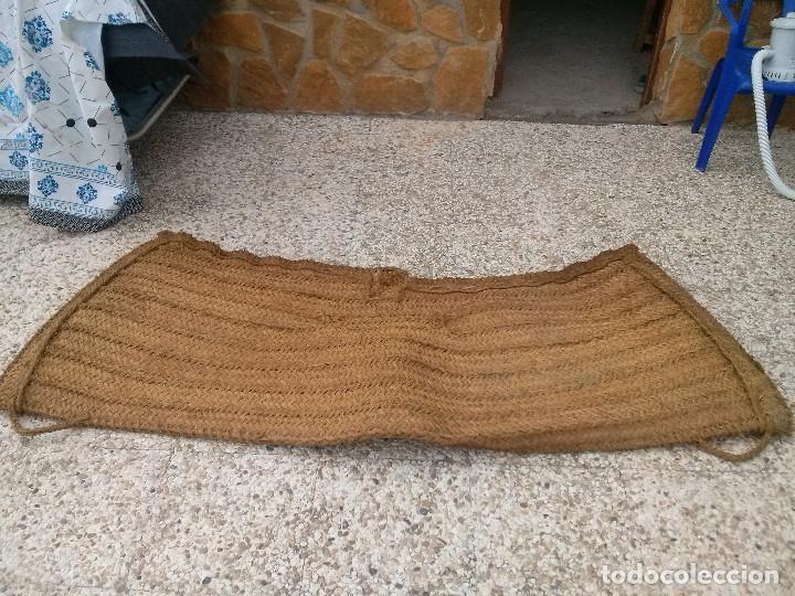 Antigüedades: seron mulo grande 2,20 de largo, 82 d alto, grueso 10 - Foto 3 - 97292987