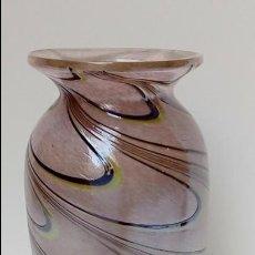 Antigüedades: JARRON DE VIDRIO IRIDISCENTE-. Lote 97308311