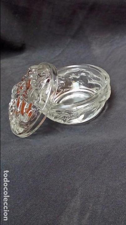 Antigüedades: polvera vidrio - Foto 3 - 97308807