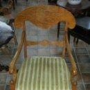 Antigüedades: SILLON ORIGINAL ESTILO BIDERMEIER. Lote 97336588