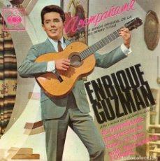 Discos de vinilo: ENRIQUE GUZMÁN, EP, ACOMPÁÑAME + 3, AÑO 1966. Lote 97357343