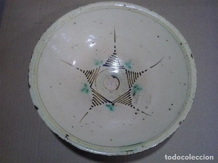 CERÁMICA POPULAR ESPAÑOLA ¿TALAVERA? 31 CM. DE DIÁMETRO (Antigüedades - Porcelanas y Cerámicas - Talavera)