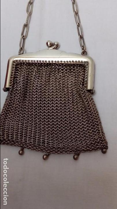 Antigüedades: monedero de alpaca - - Foto 2 - 97373831