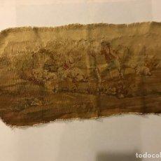 Antigüedades: TAPICERI AUBUSSON ORIGINAL S. XIX PARA RESTAURAR. Lote 97378727
